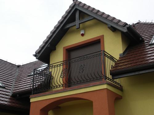 Balustrady na balkonach, tarasach, klatkach schodowych - wykonawstwo i montaż 0 KIM Ogrodzenia Budzyń