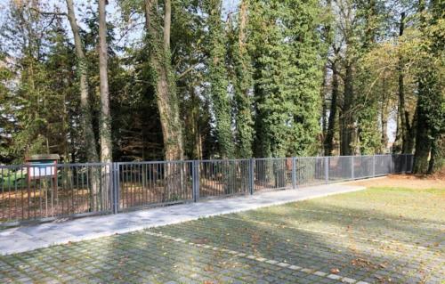 Ogrodzenie stalowe dla Nadleśnictwa Podanin - cynkowane, malowane proszkowo