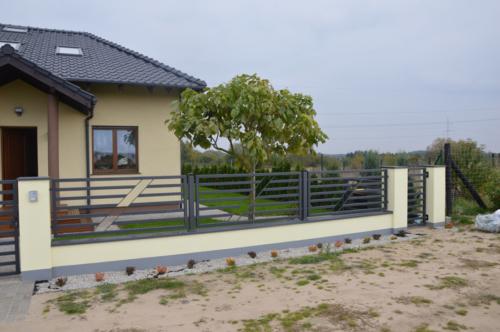 Ogrodzenia stalowe i drewniane, nowoczesne i klasyczne, ocynkowane, malowane proszkowo - KIM Ogrodzenia Budzyń
