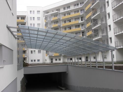 Wykonujemy i montujemy ślusarkę budowlaną na blokach, parkingach - KIM Ogrodzenia Budzyń