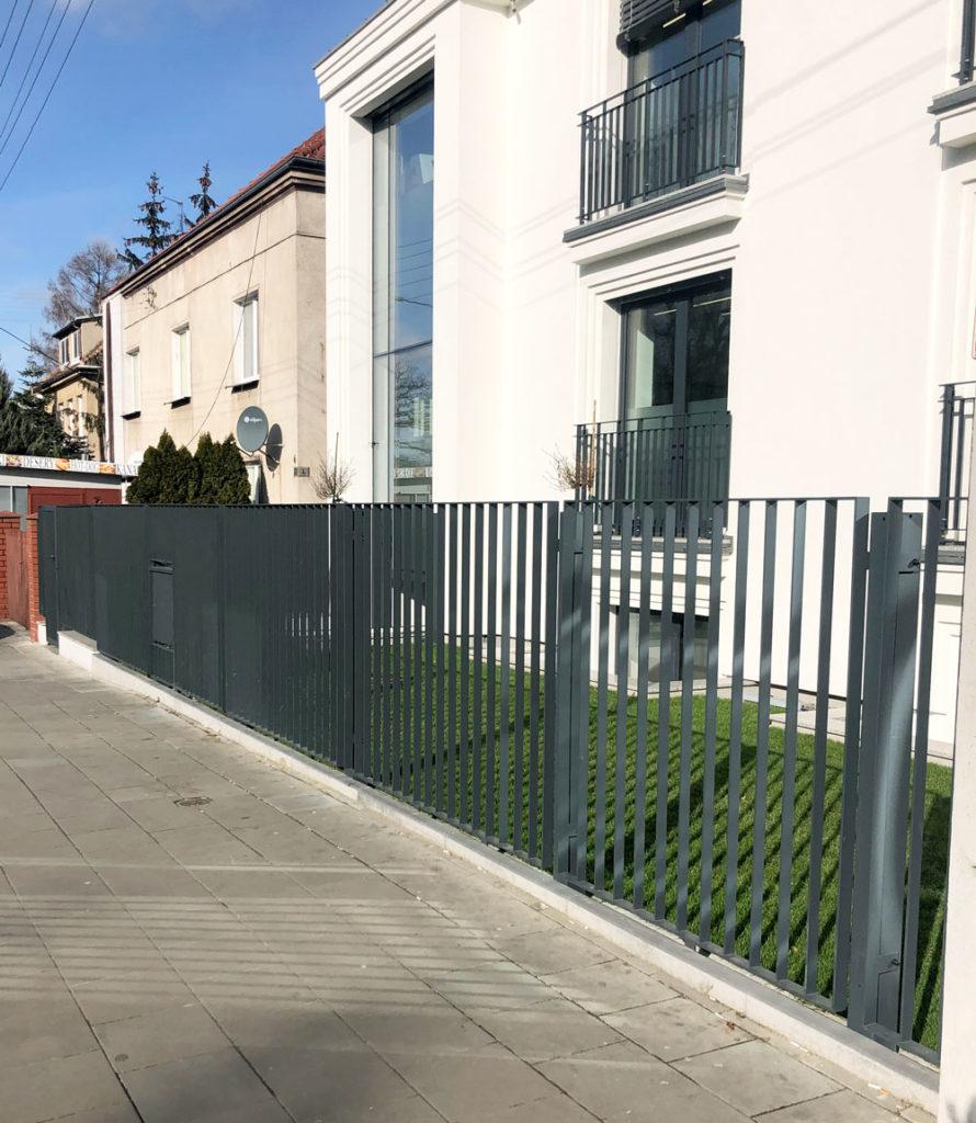 Kolejne ogrodzenie zamontowane u Klienta