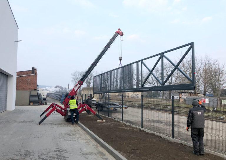Wykonanie i montaż bramy przesuwnej 13,5 metra!