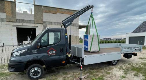 Read more about the article Oferujemy usługi transportowe z rozładunkiem HDS-em